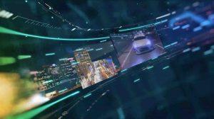 AE模板-3D屏幕环形背景插图