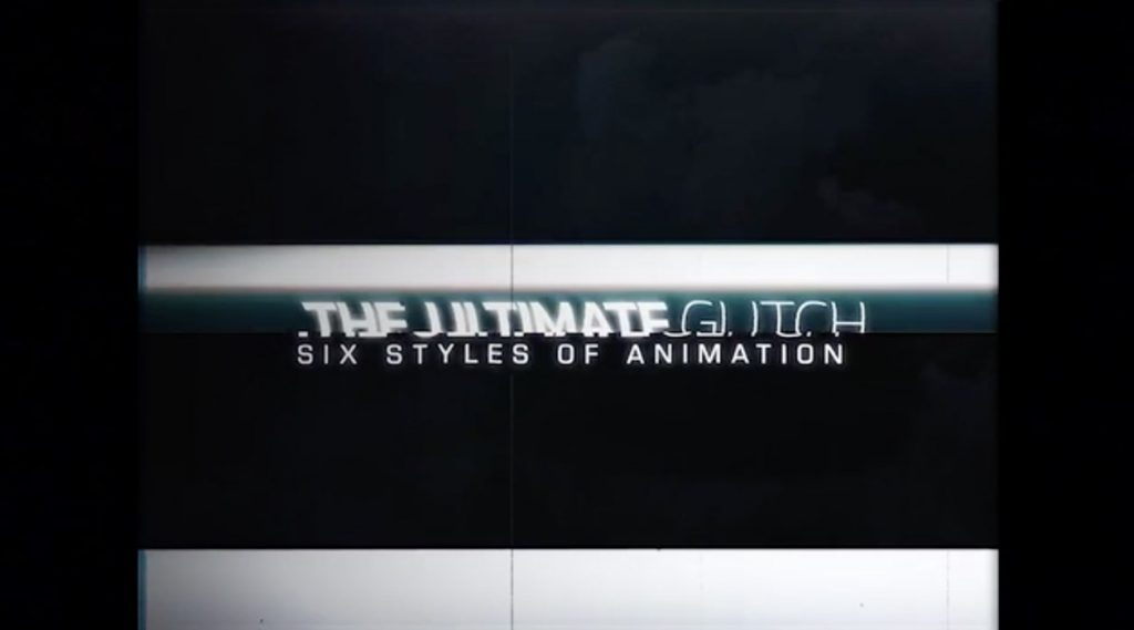 AE模板-70个小故障标题动画预设包插图1