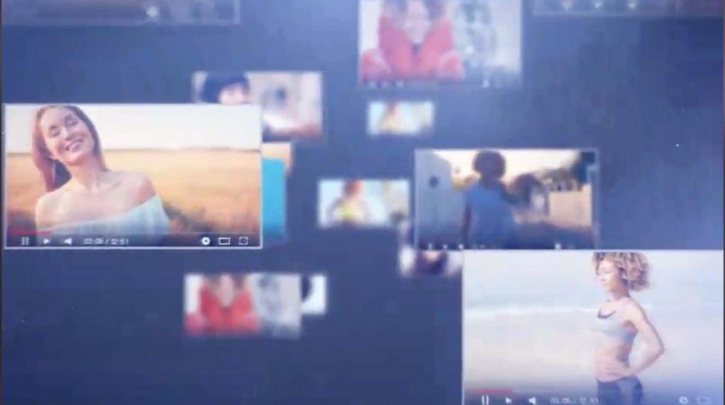 AE模板-空间视频图片展示插图
