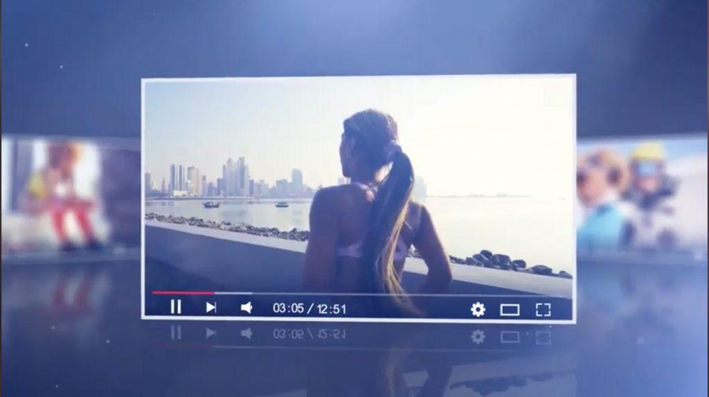 AE模板-空间视频图片展示插图1