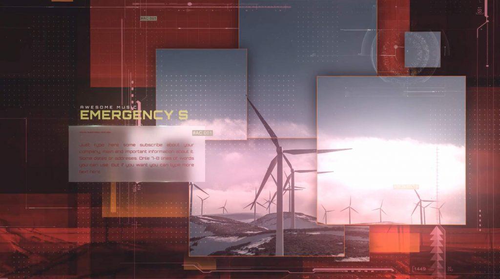 AE模板-能源原子技术幻灯片插图2