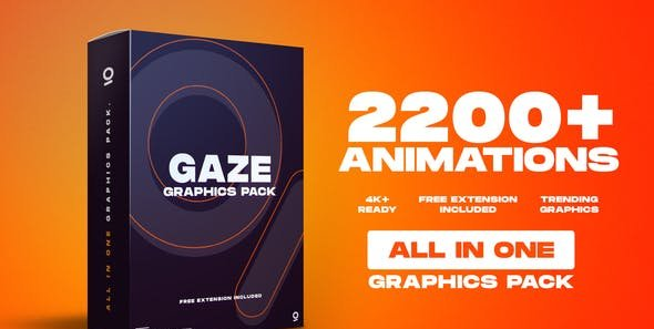 AE模板-2200+效果工具图形库 Graphics Pack插图