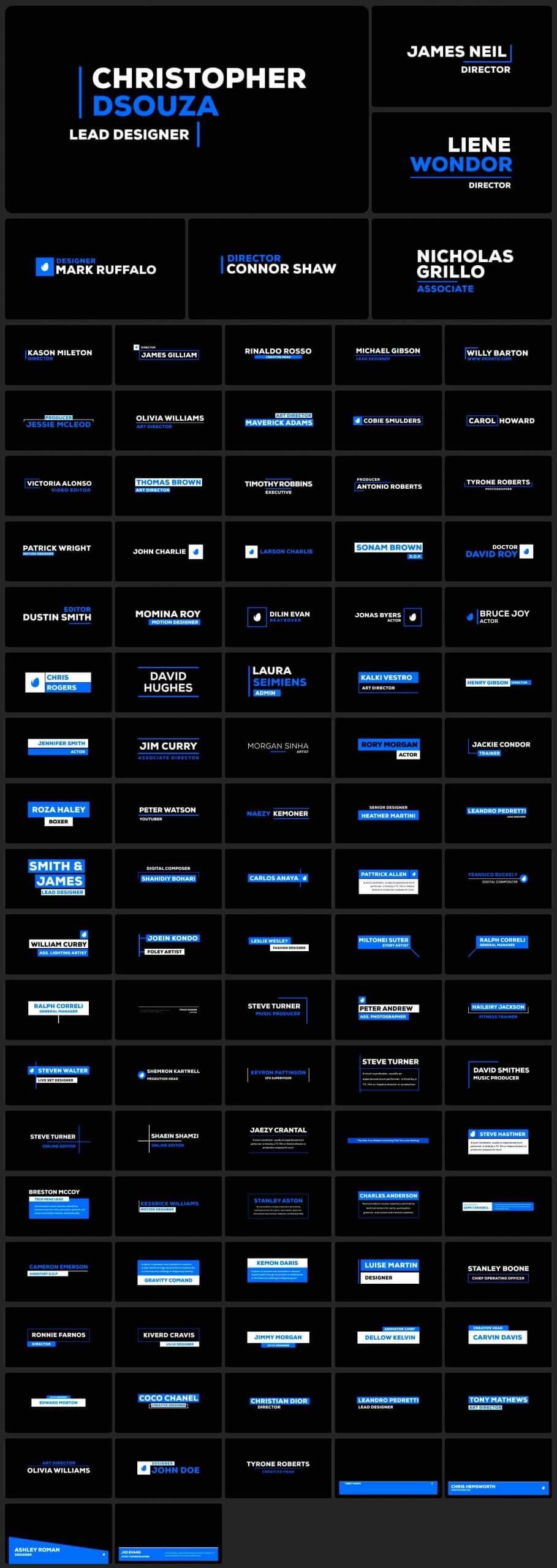 AE模板-2200+效果工具图形库 Graphics Pack插图8