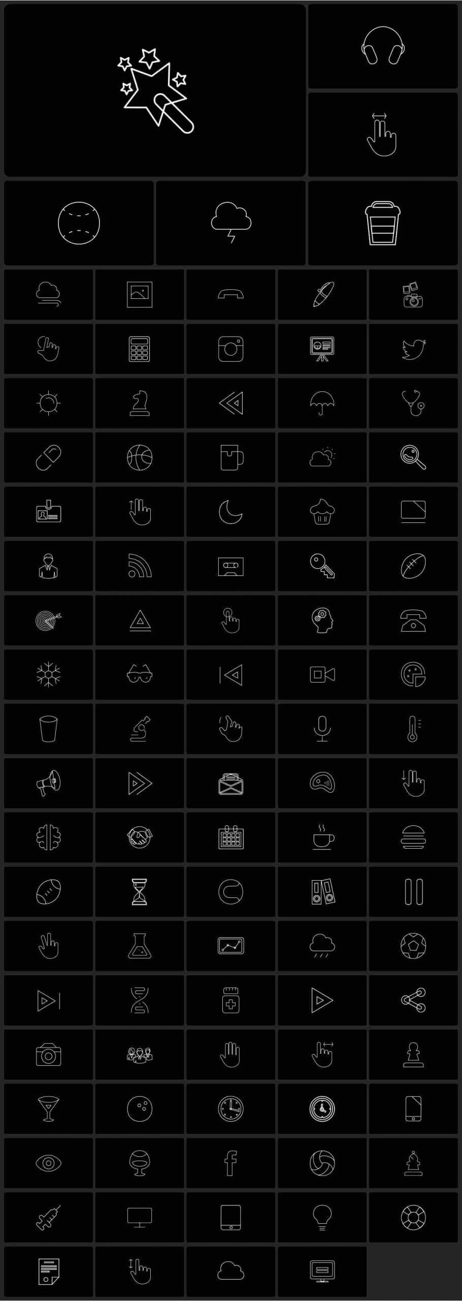 AE模板-2200+效果工具图形库 Graphics Pack插图23