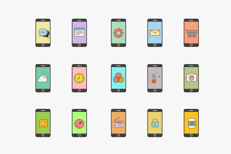 15个iPhone App概念图标插图