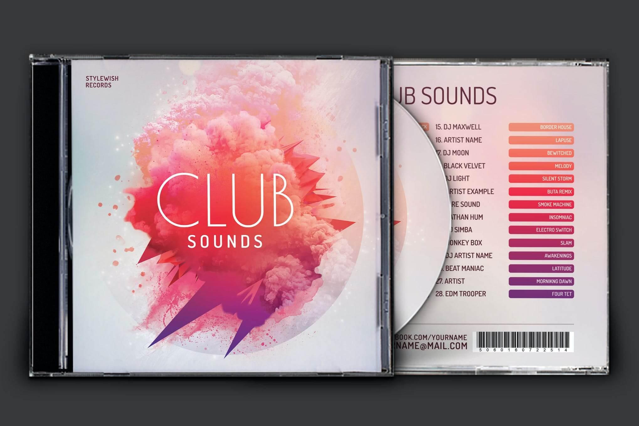 俱乐部CD封面艺术品插图