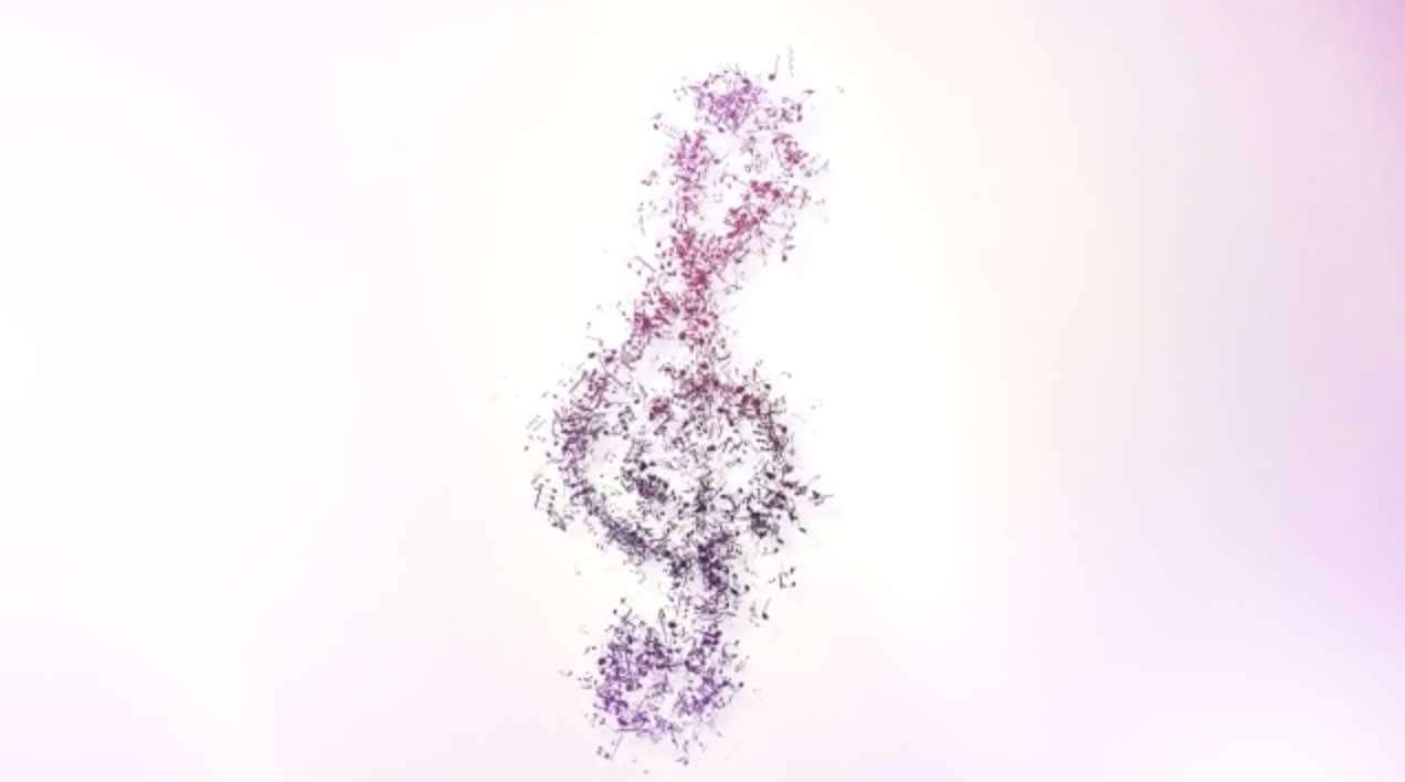 AE模板-音乐符号logo插图