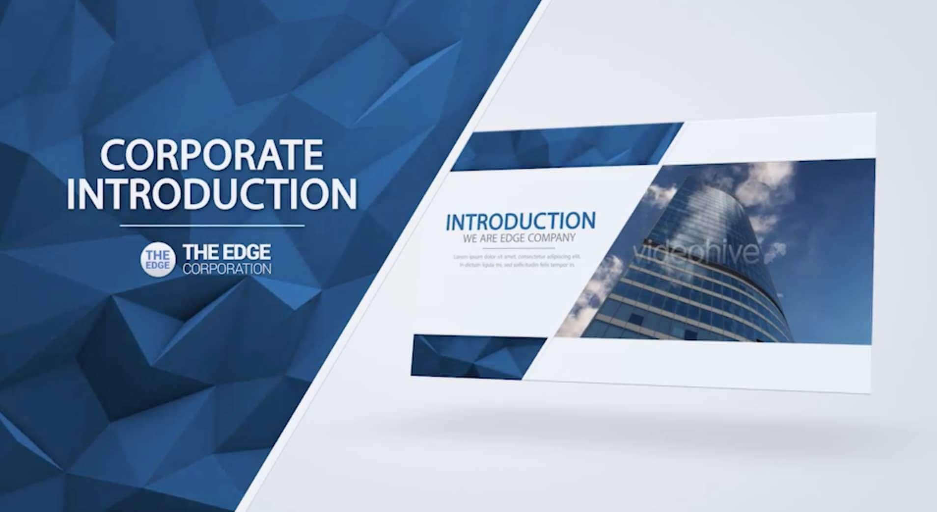 AE模板-The Edge-企业视频展示插图1