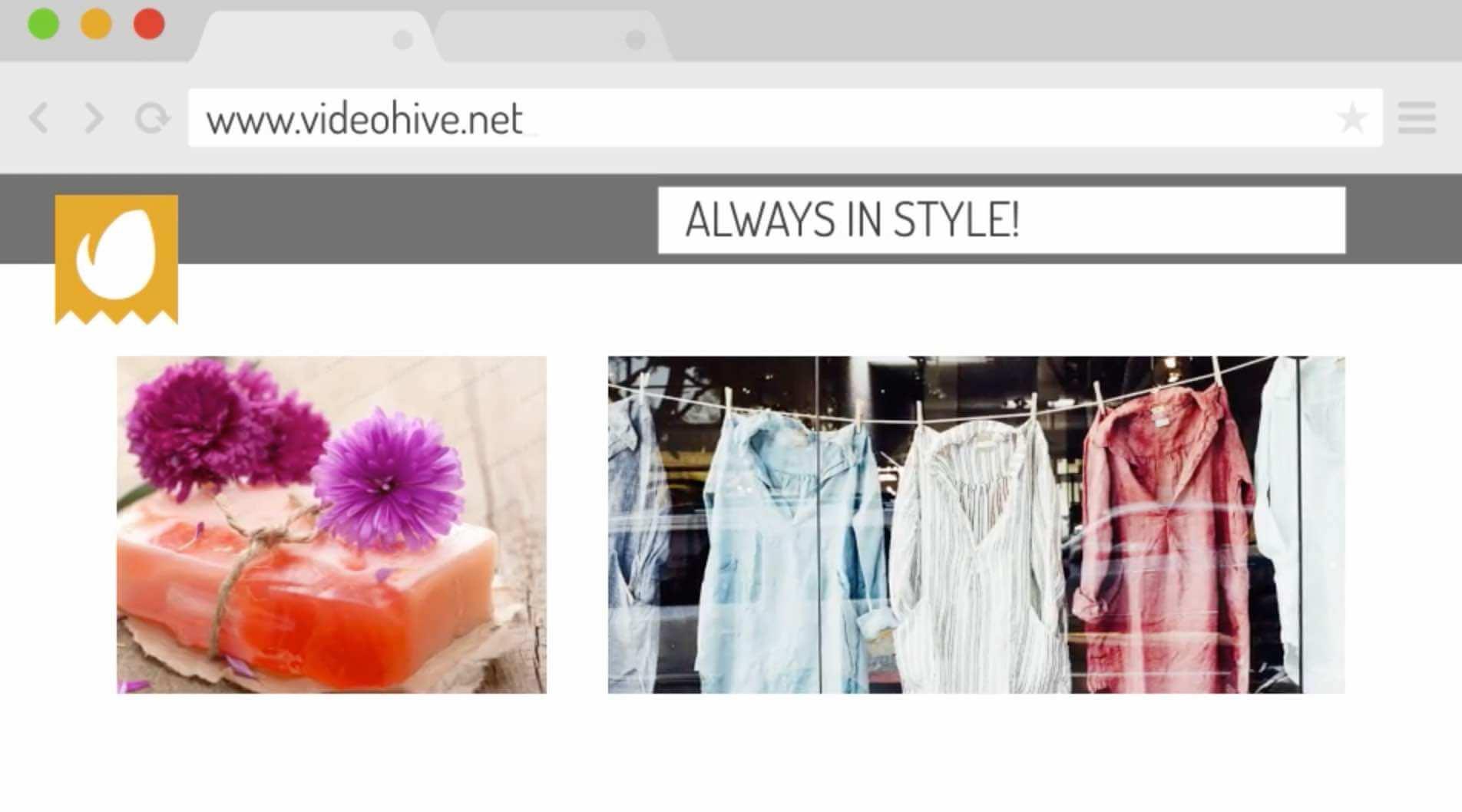AE模板-家庭购物-网上商店促销插图1