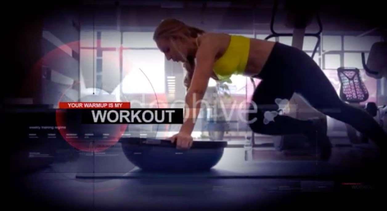 AE模板-健身运动预告片插图