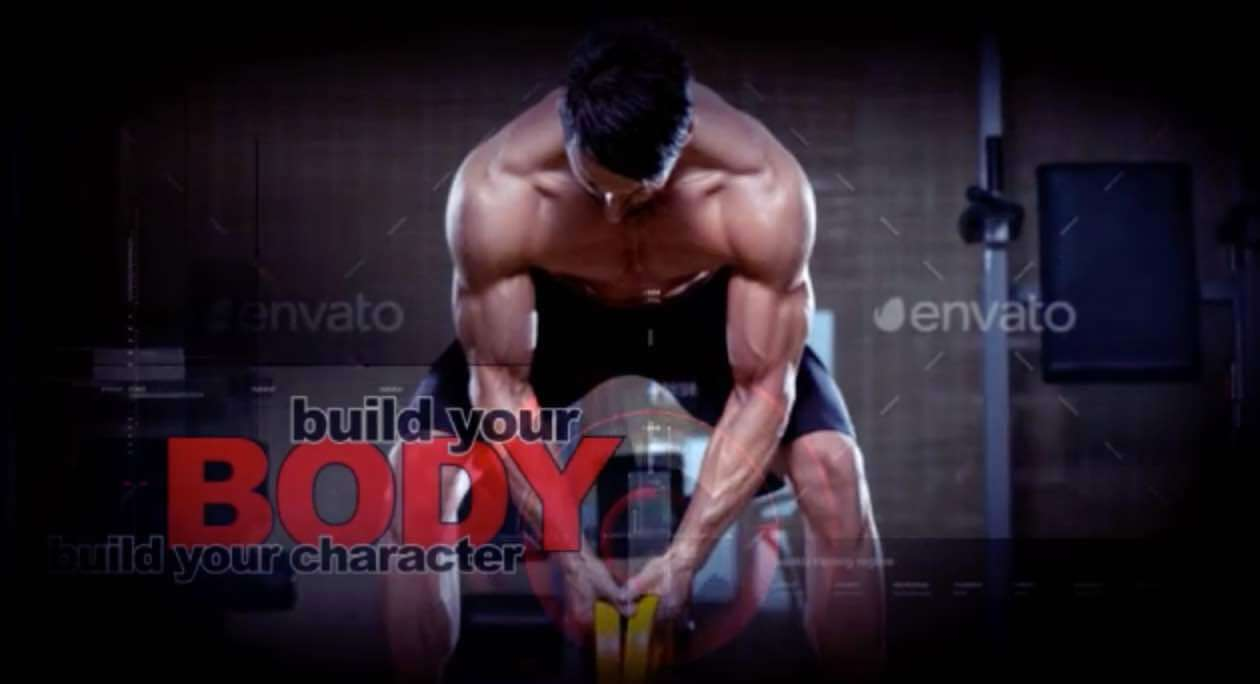 AE模板-健身运动预告片插图1