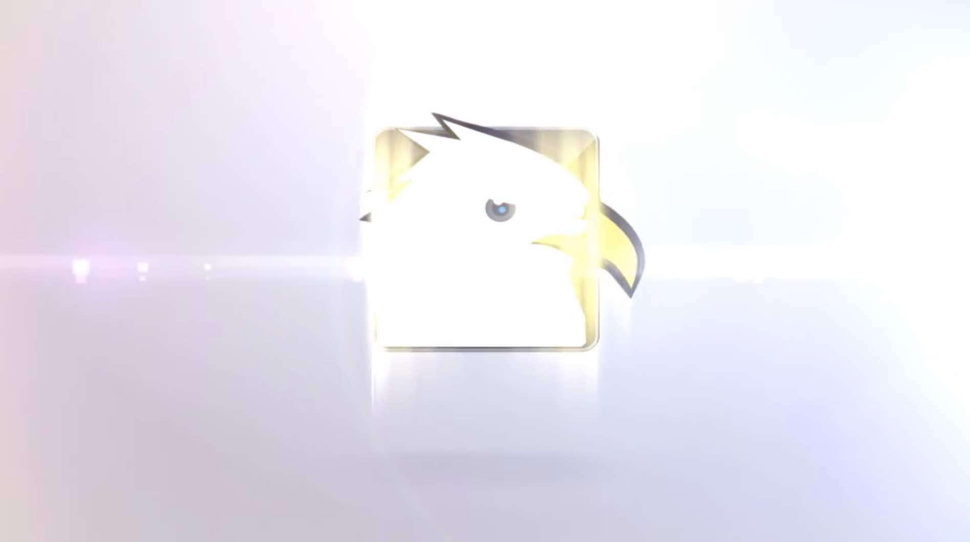 AE模板-优雅的玻璃logo插图1