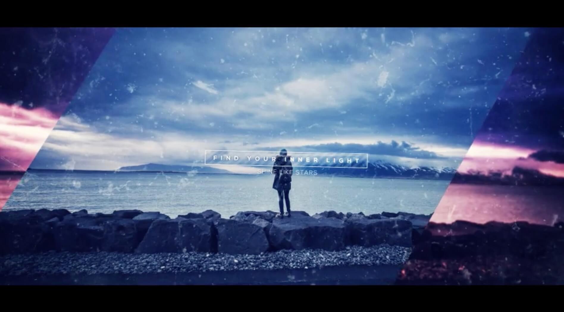 AE模板-神秘电影预告图片展示插图