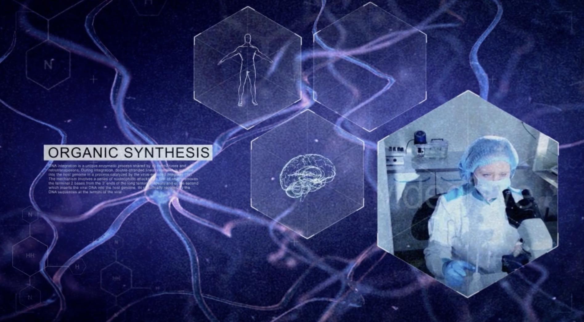AE模板-神经细胞图文展示插图
