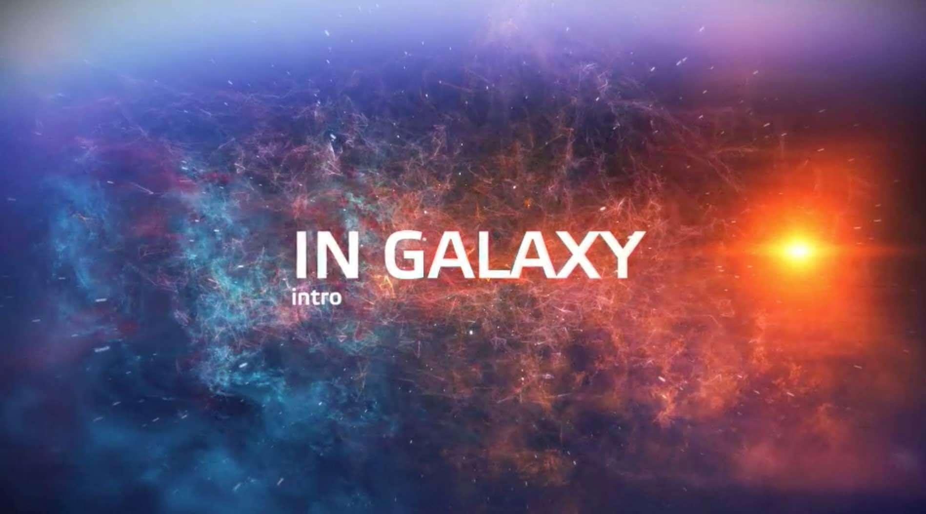 AE模板-震撼星系文字标题插图2