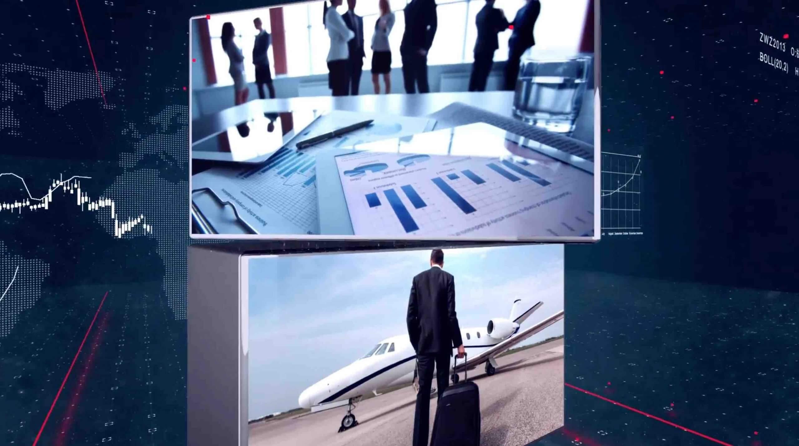 AE模板-E3D制作空间图片展示插图3