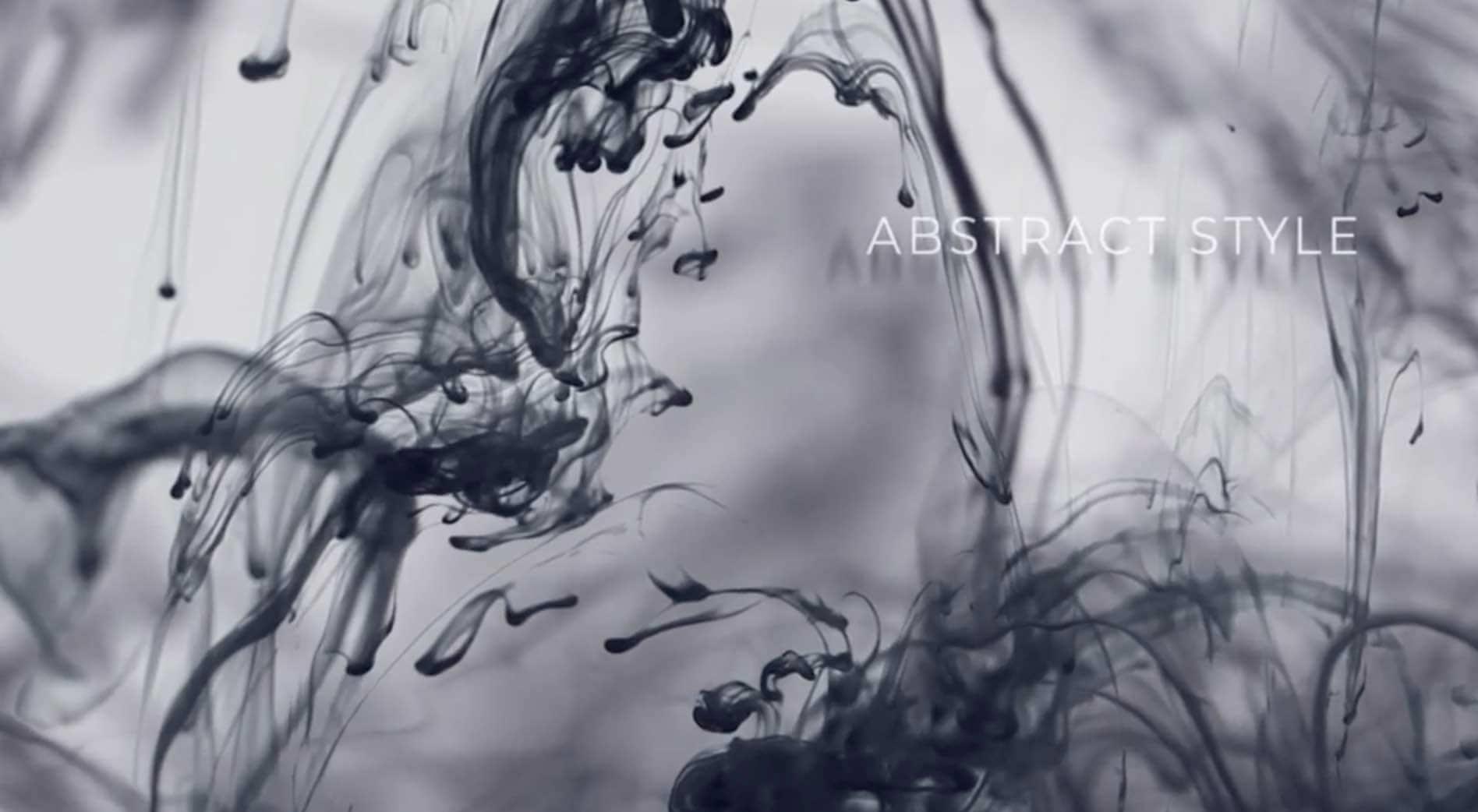 AE模板-抽象水墨标题插图2