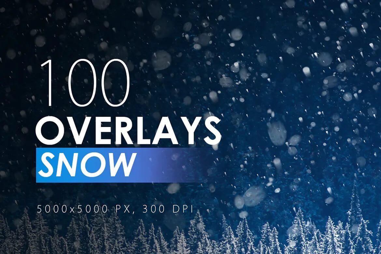 100个不同的积雪覆盖插图