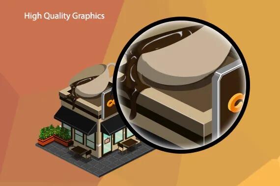2D等距游戏资产-城市构建插图1