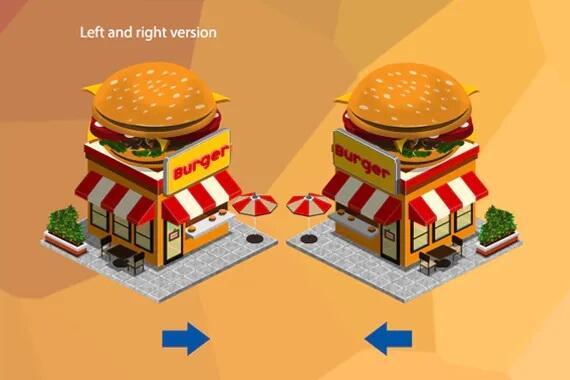 2D等距游戏资产-城市构建插图2