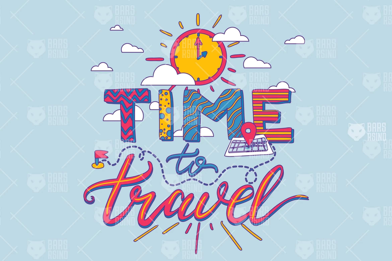 时间旅行海报插图