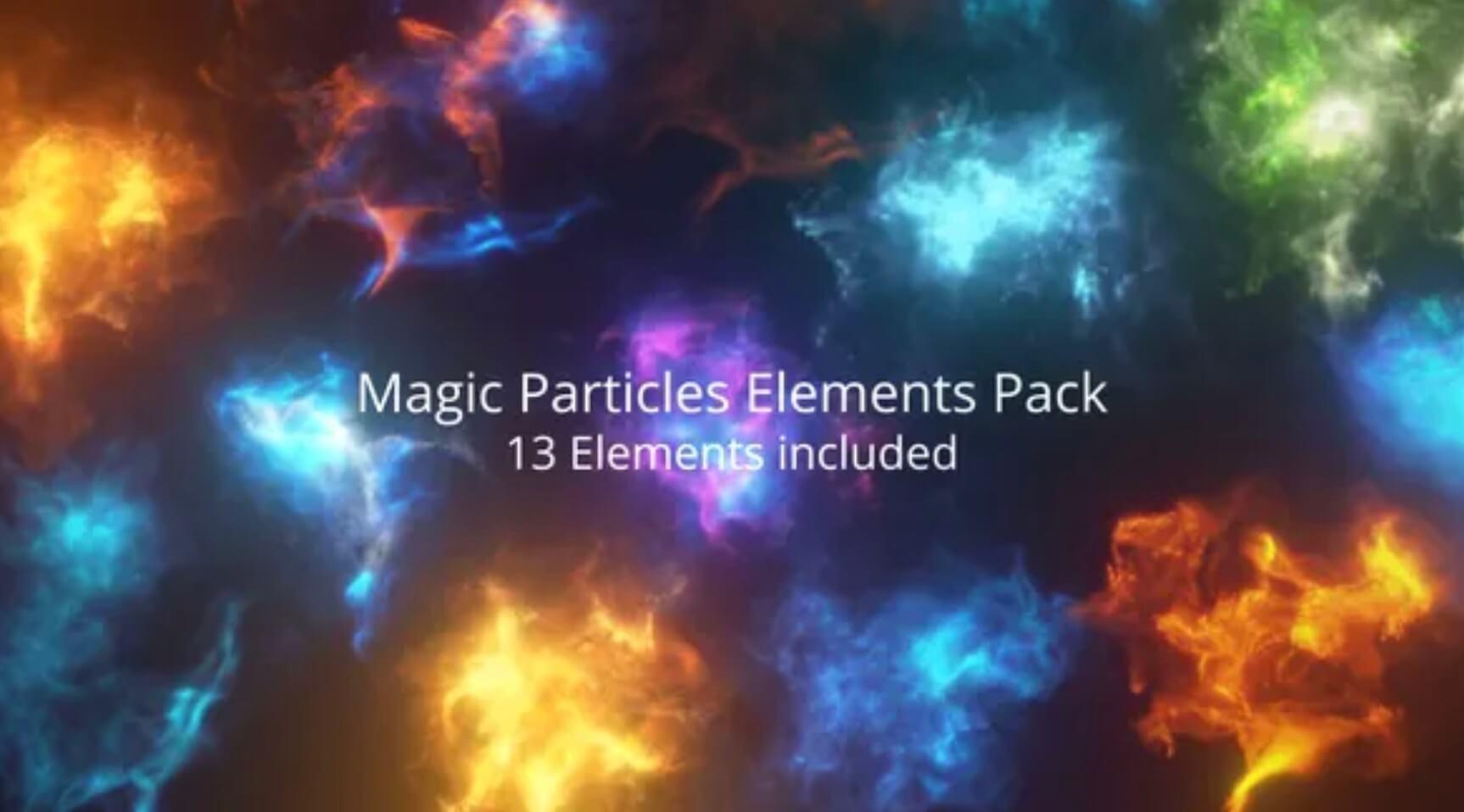 VFX魔法粒子元素包插图