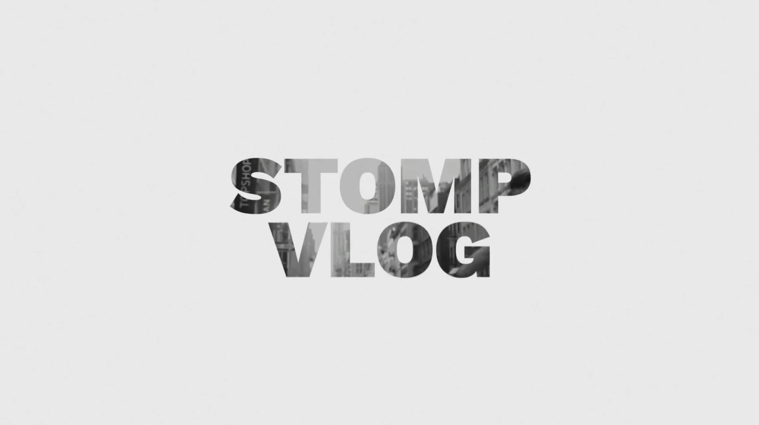 AE模板-STOMP快闪Vlog开场插图1