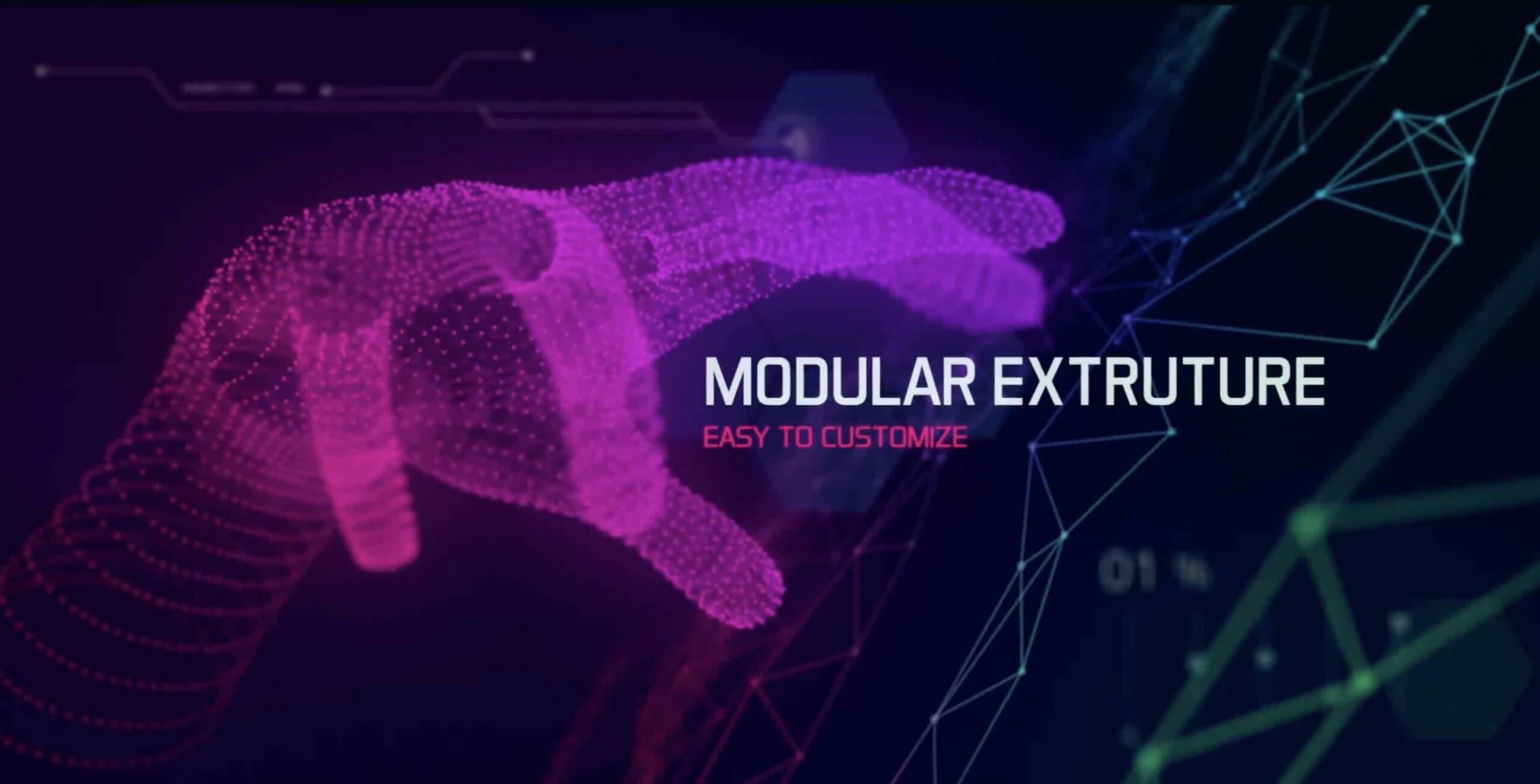 AE模板-粒子数字标题开篇(包含音效,OBJ模型)插图1