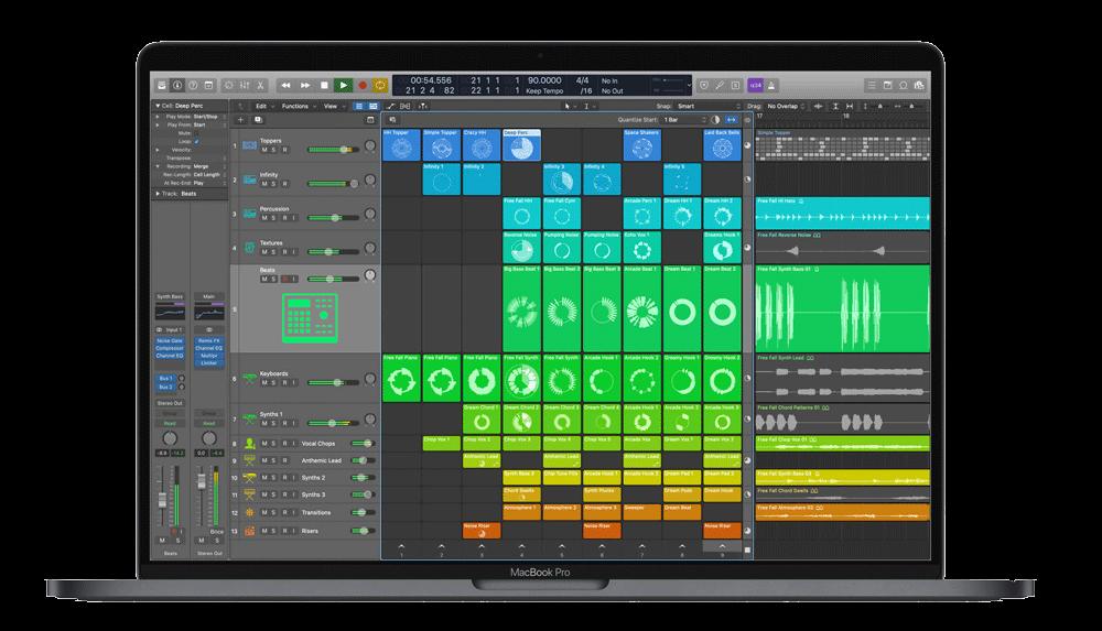 %title插图%num零号CG视觉平台Apple Logic Pro X 10.5.1