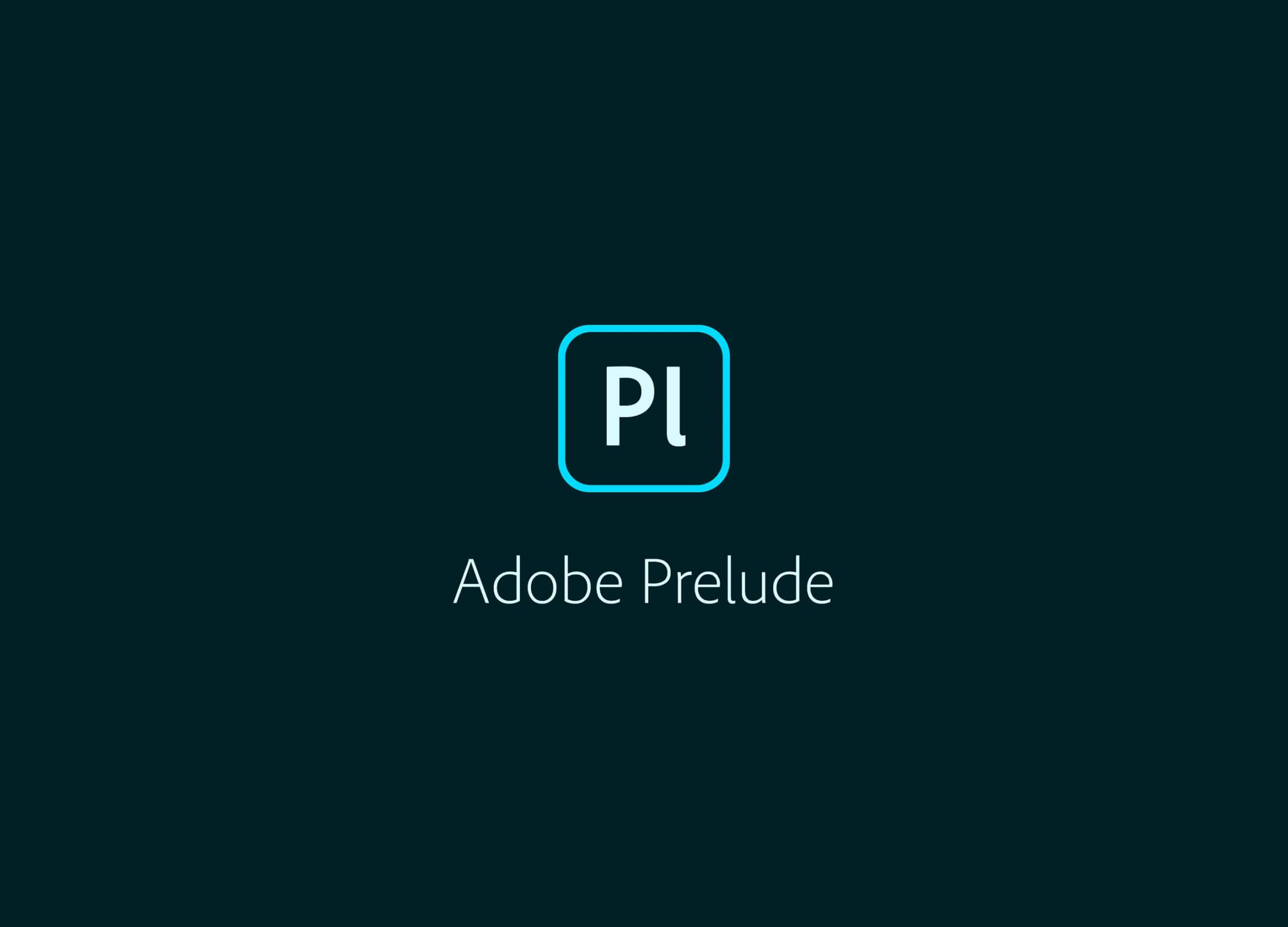 Adobe Prelude 2020 SP插图