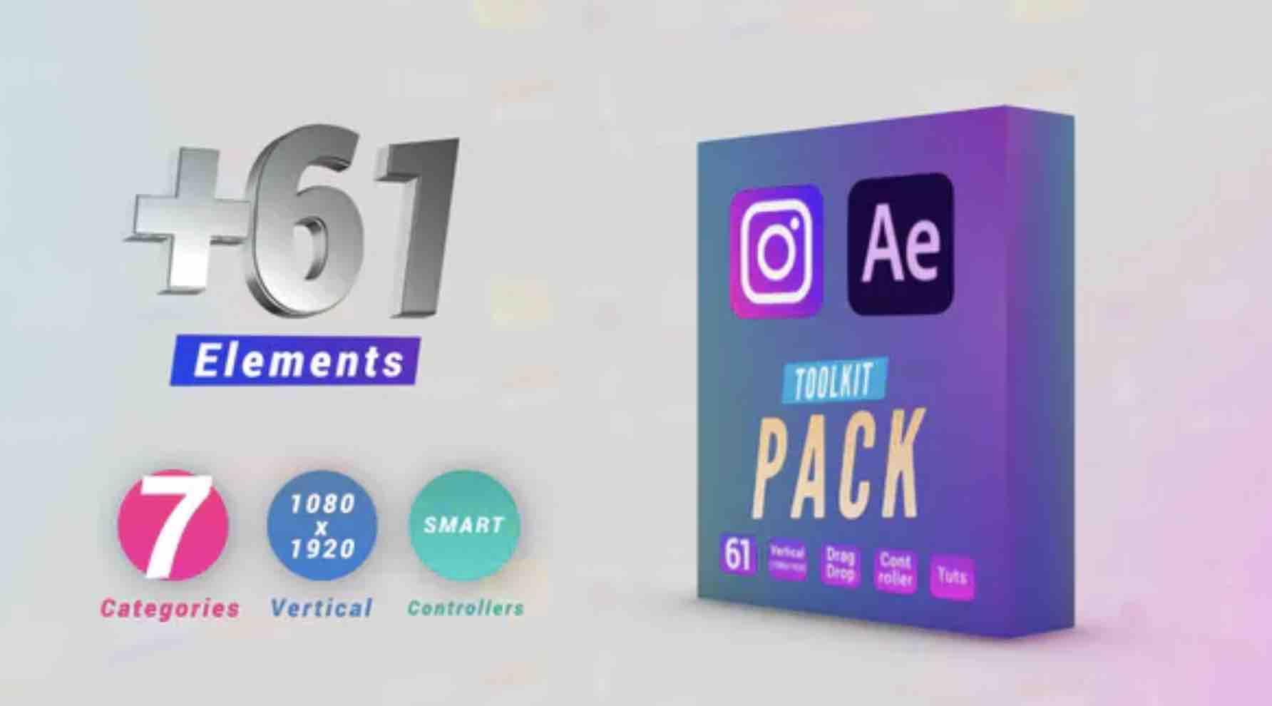 AE模板-Instagram工具包插图