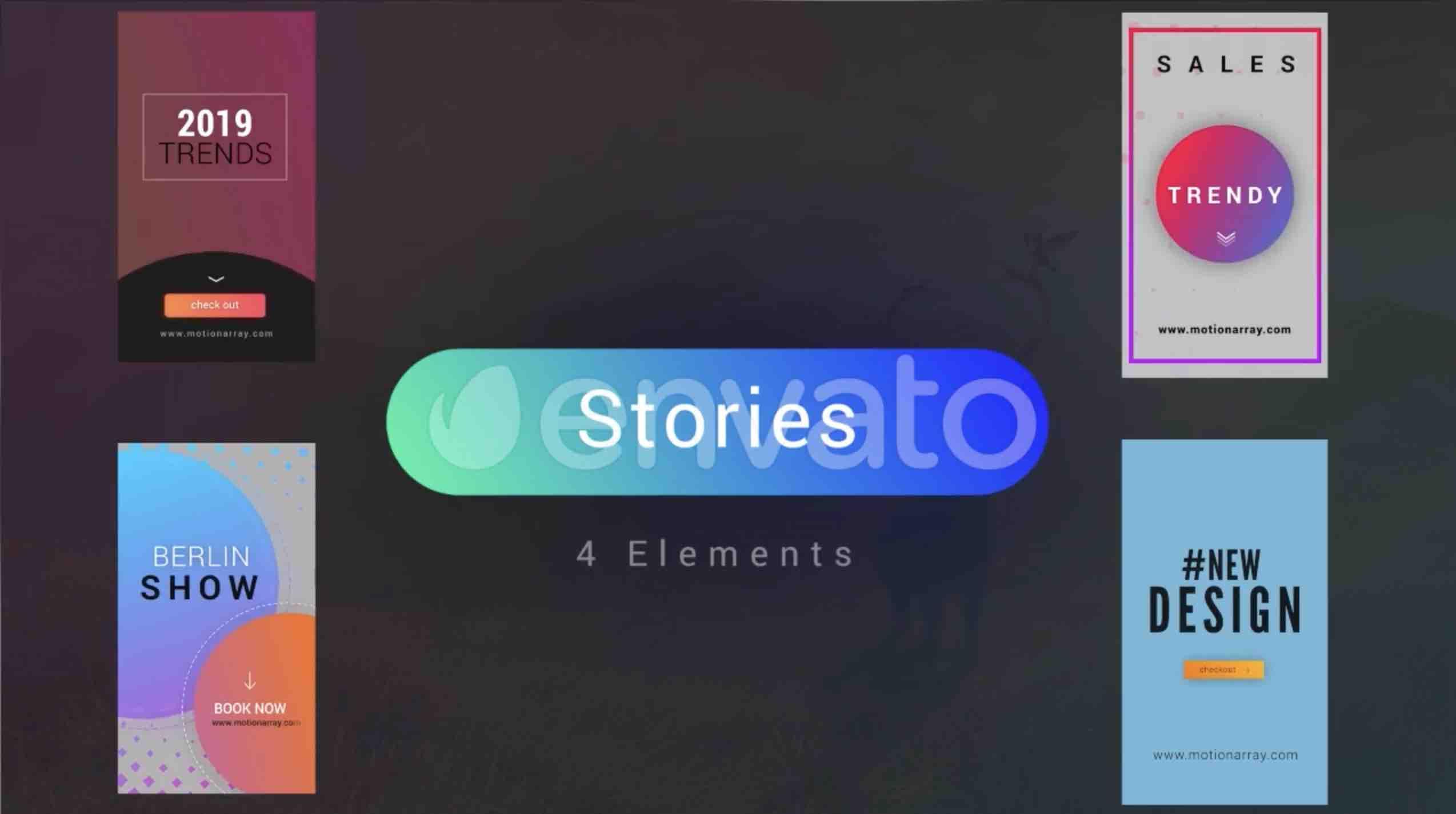 AE模板-Instagram工具包插图4