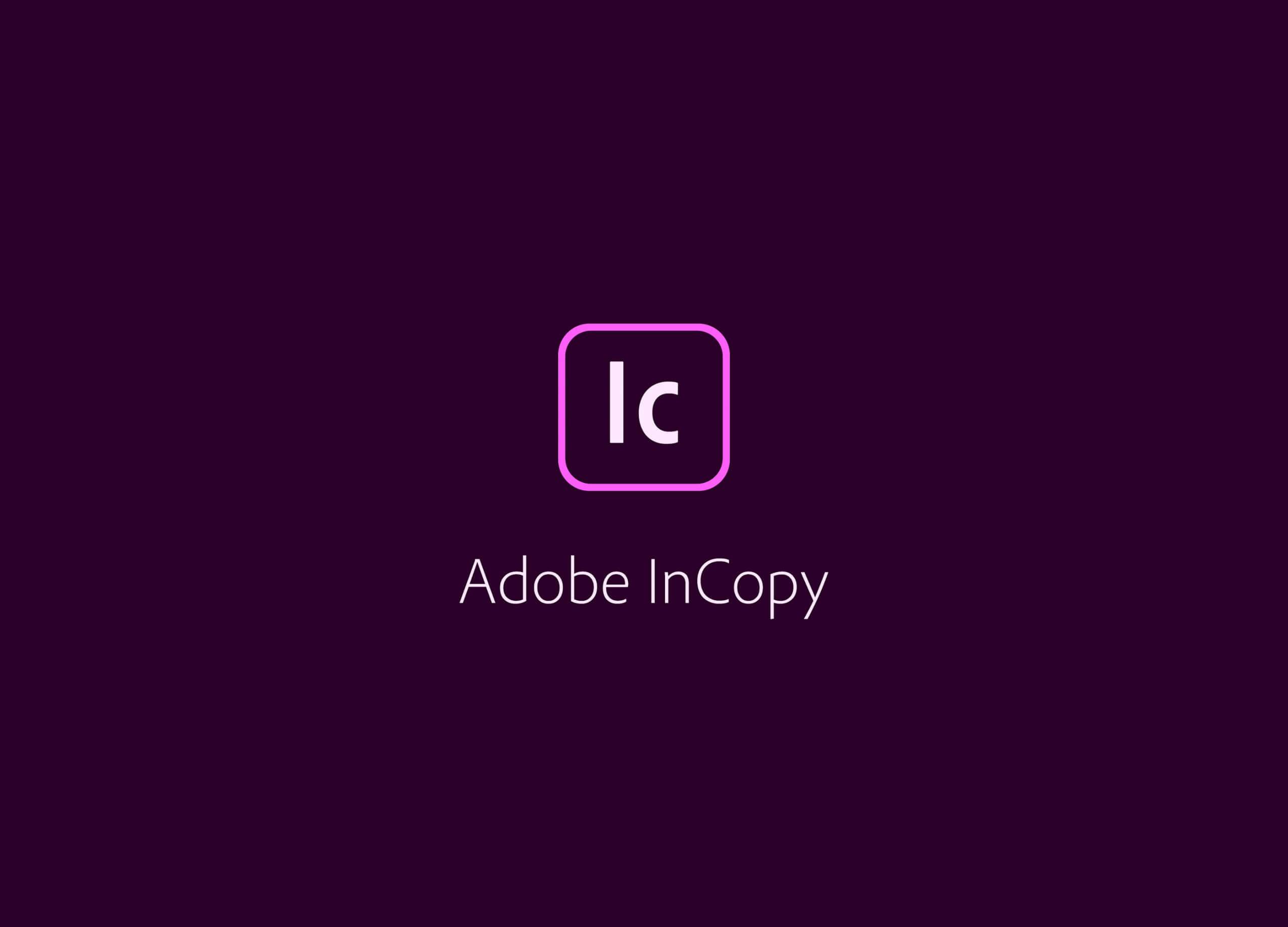 Adobe InCopy 2020 SP插图