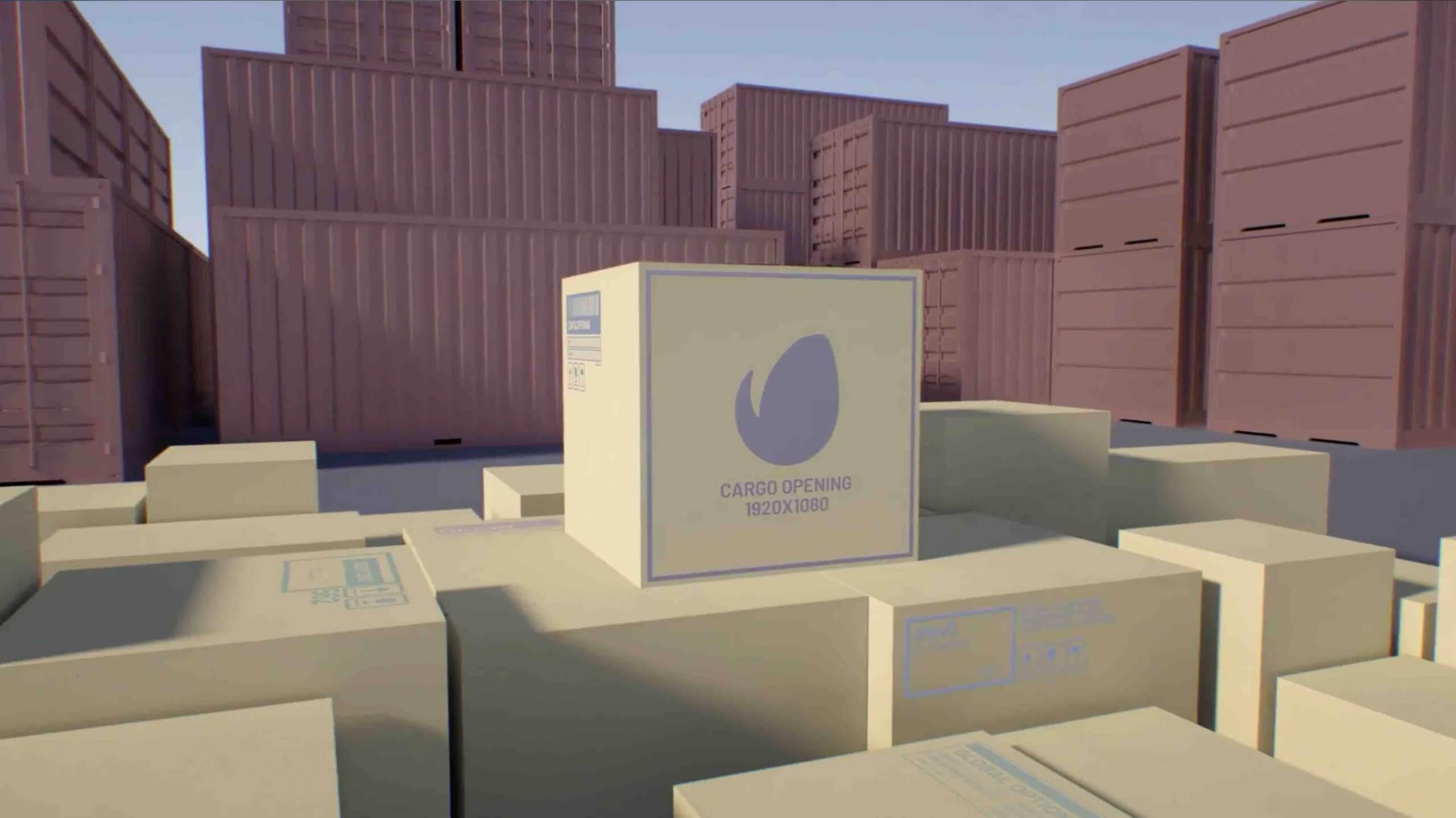 AE模板-货物开仓/运输/集装箱运输/卡车运输/Сourier/快速交货/ APP插图1