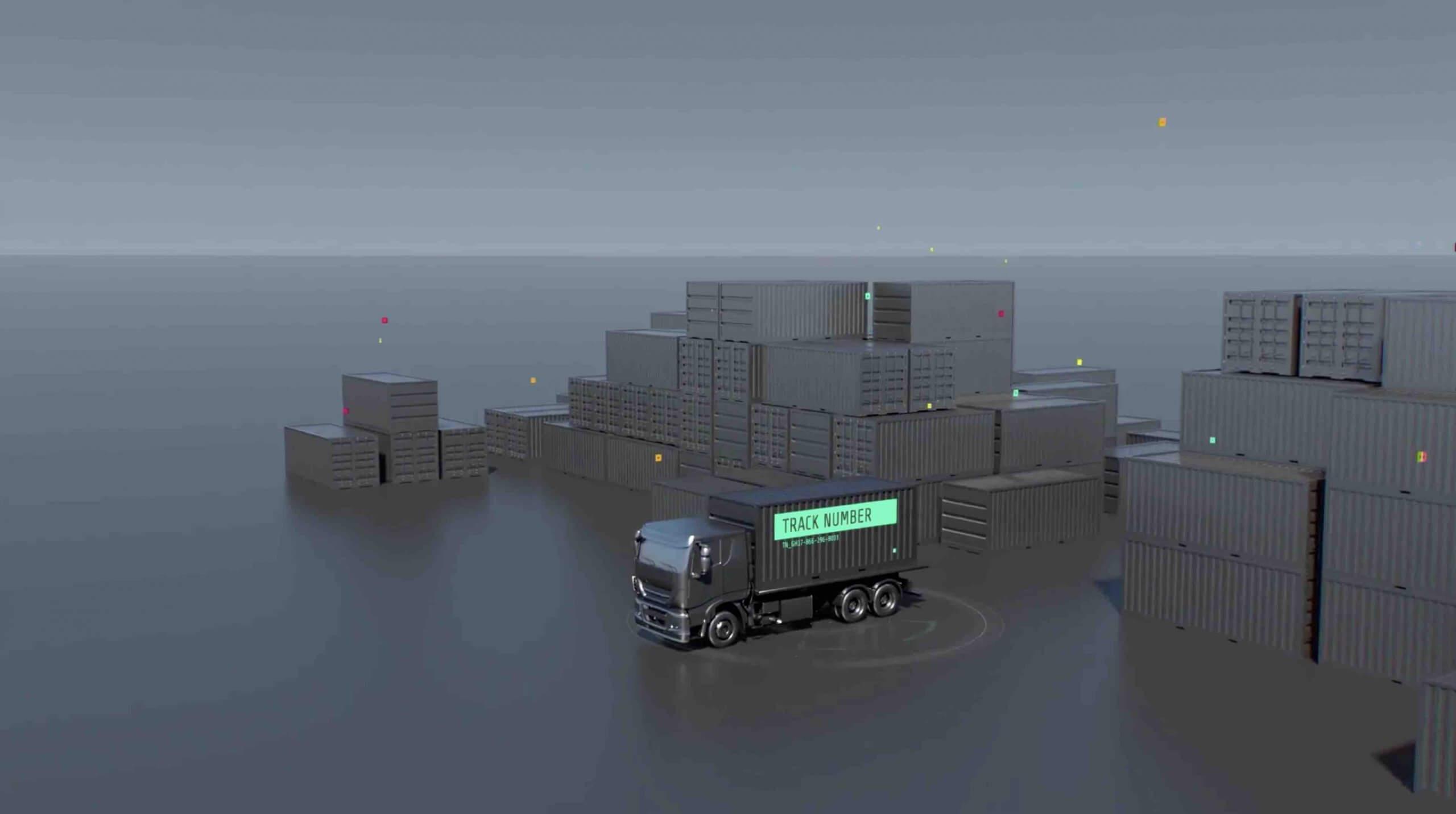 AE模板-运输/集装箱运输/卡车运输/ HUD UI插图2