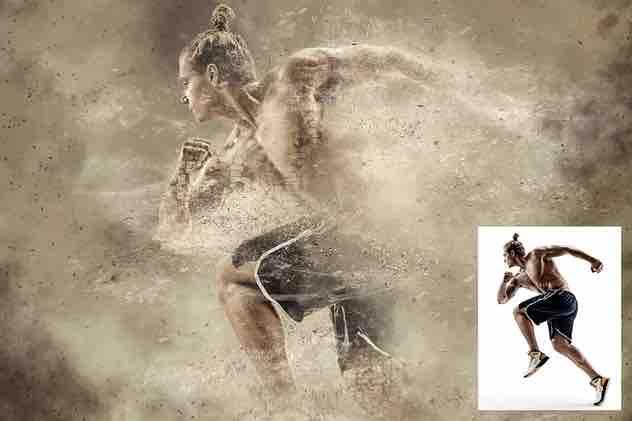 沙漠Photoshop动作插图3