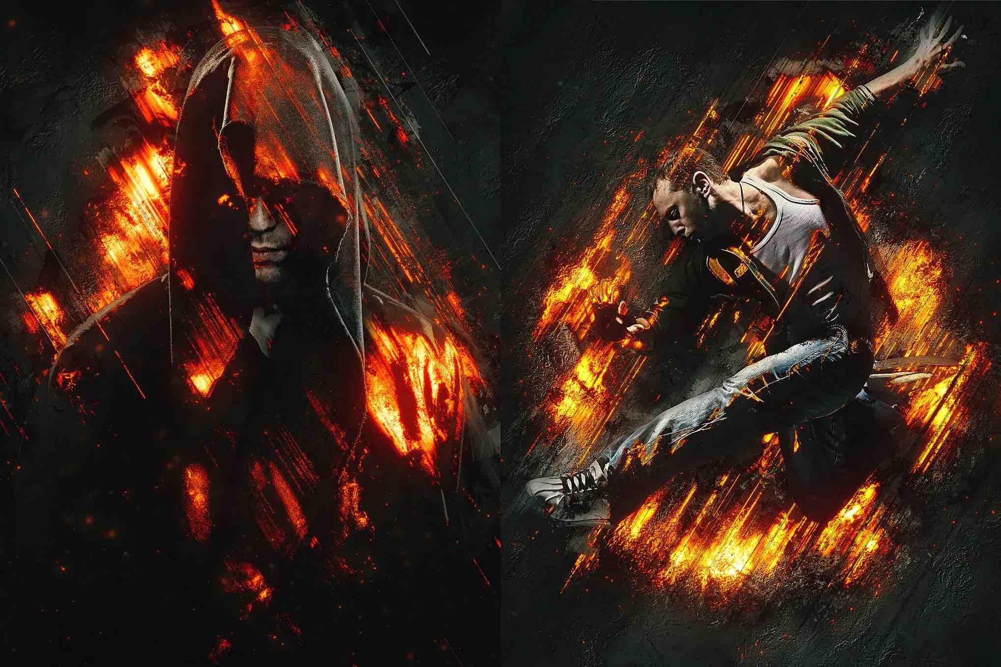 狂怒3 Photoshop动作插图