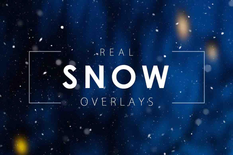 真正的雪(透明通道)插图