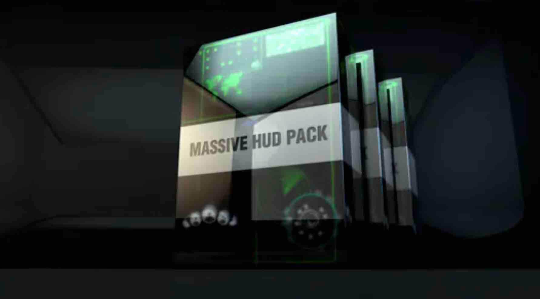 AE模板-大型Hud包