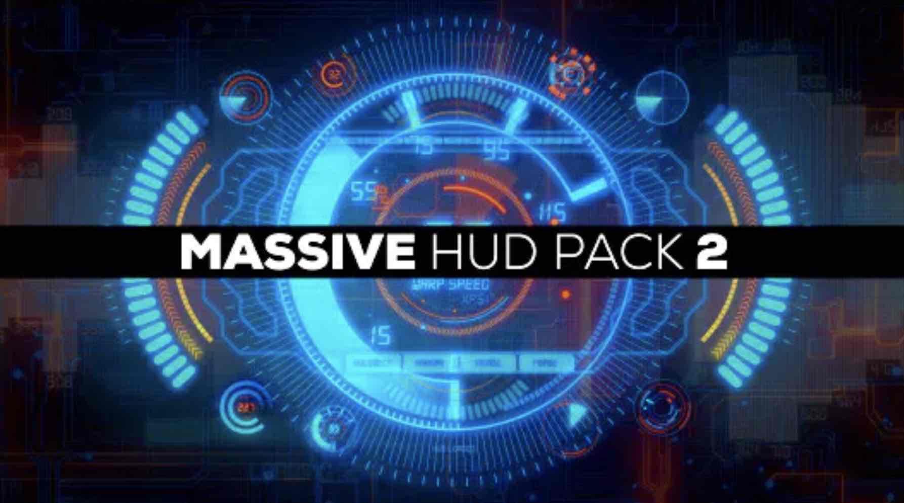 AE模板-大型Hud包2