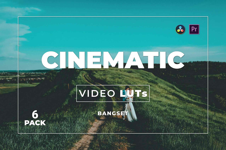 %title插图%num零号CG视觉平台Bangset Cinematic Pack 6视频LUT