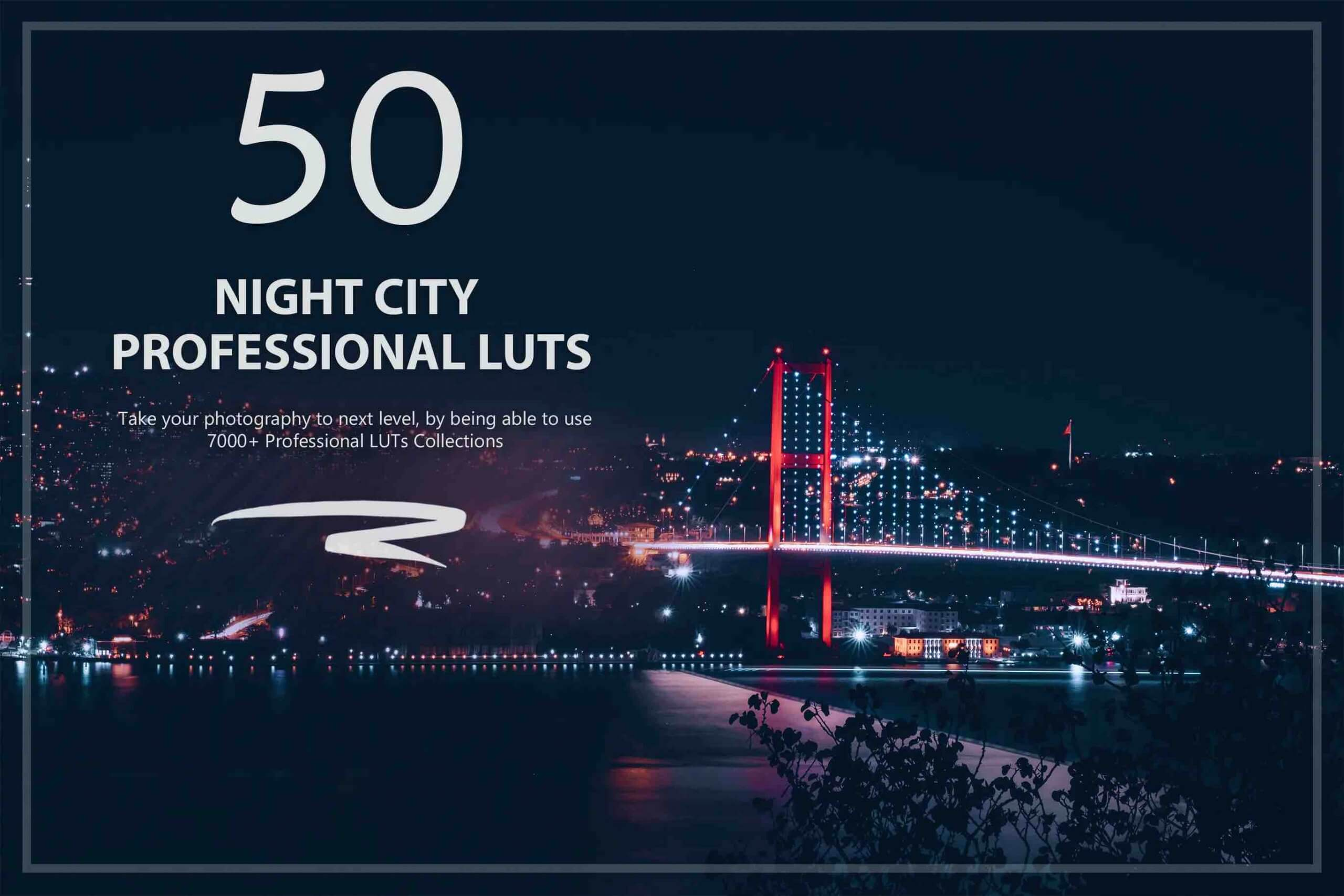 %title插图%num零号CG视觉平台50个夜晚城市LUT和预设包