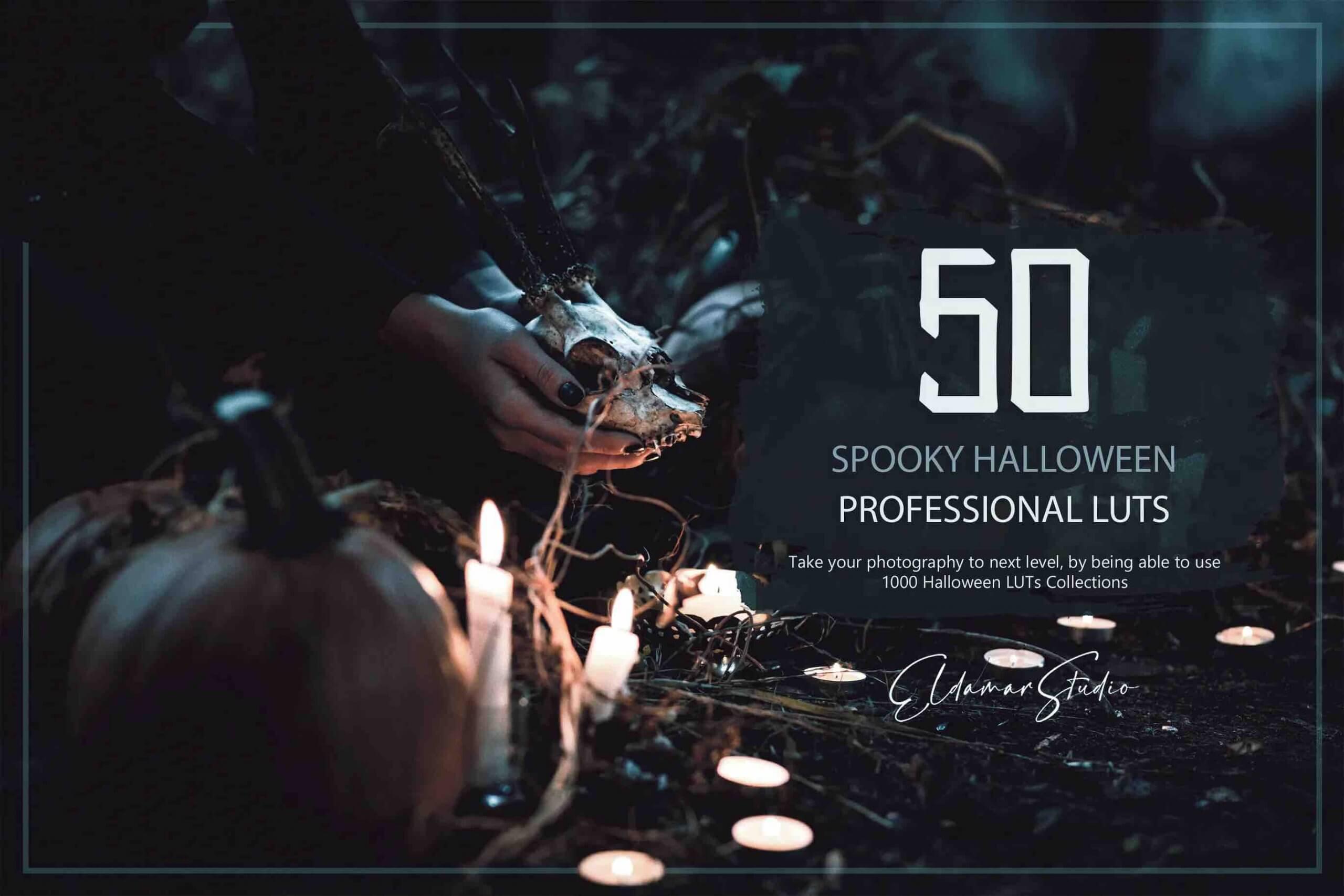 %title插图%num零号CG视觉平台50个幽灵万圣节LUT和预设包
