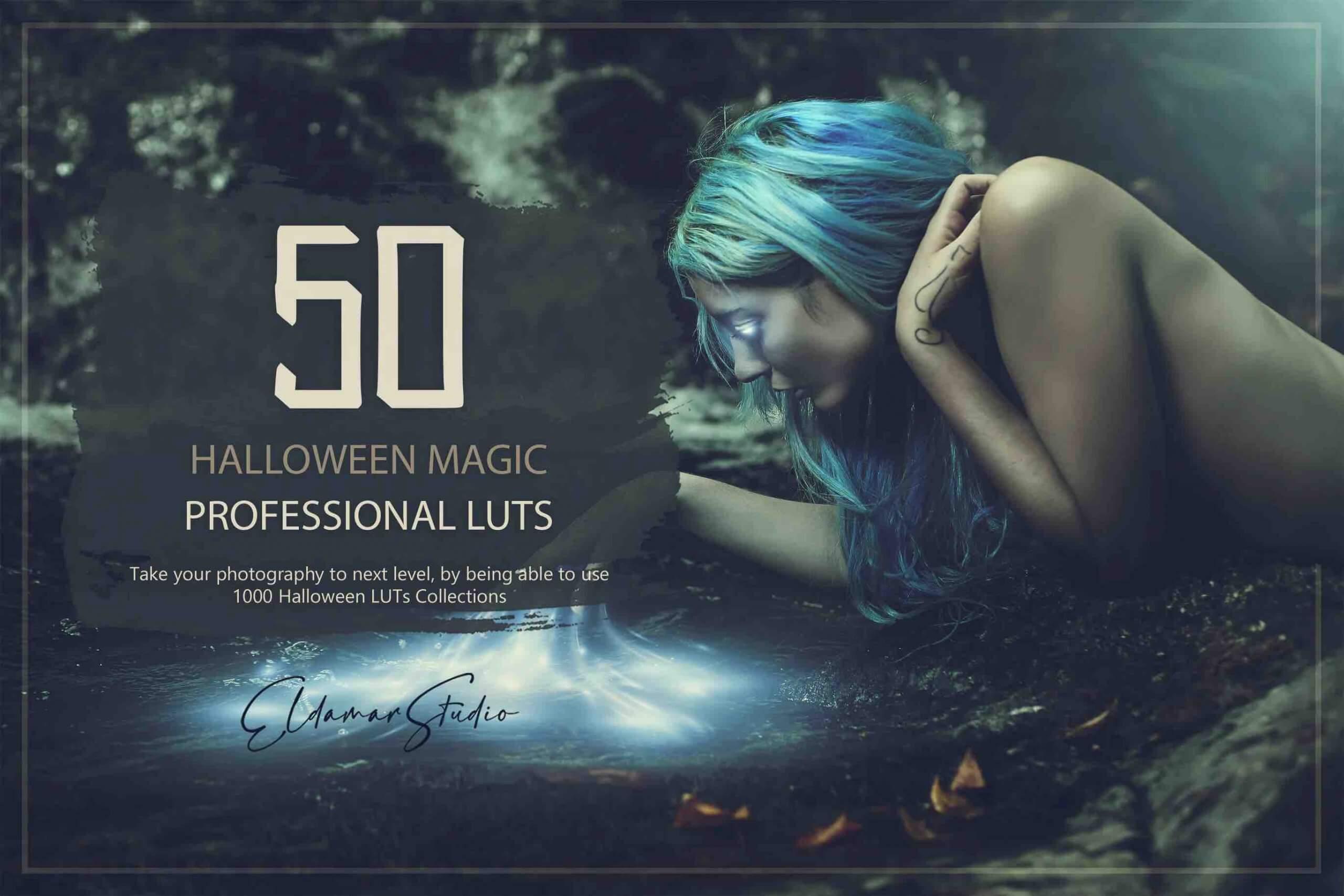 %title插图%num零号CG视觉平台50个魔法LUT和预设包