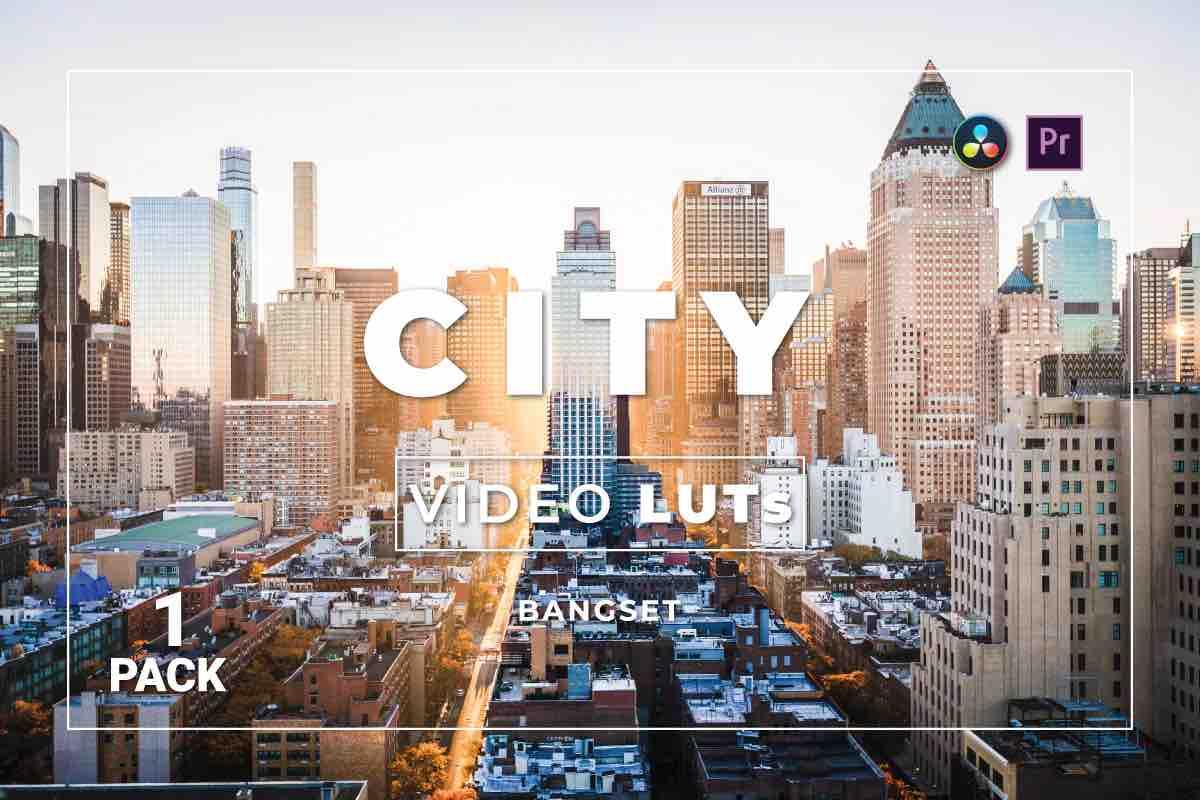 %title插图%num零号CG视觉平台Bangset City Pack 1视频LUT