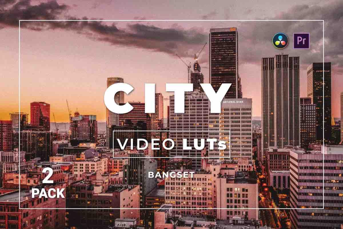 %title插图%num零号CG视觉平台Bangset City Pack 2视频LUT