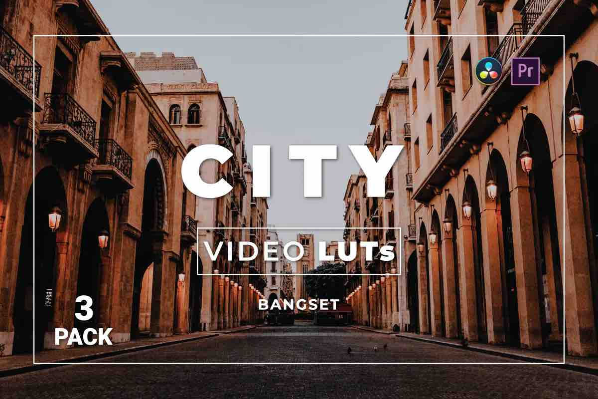 %title插图%num零号CG视觉平台Bangset City Pack 3视频LUT