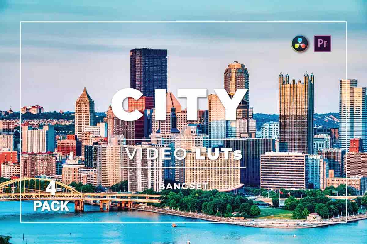 %title插图%num零号CG视觉平台Bangset City Pack 4视频LUT